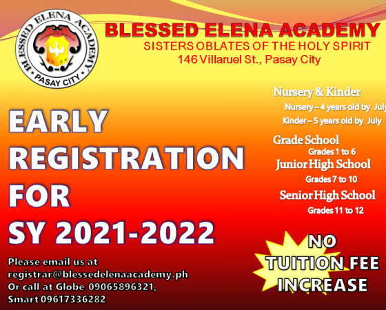 ONLINE & FACE TO FACE ENROLLMENT IS ON GOING
