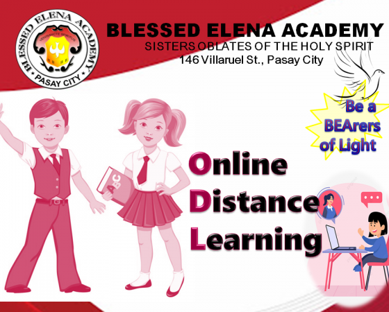 WE OFFER ONLINE DISTANCE LEARNING